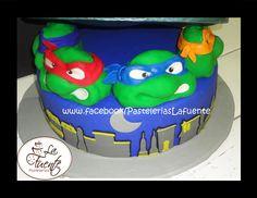 Pastel de Fondant de las Tortugas Ninja