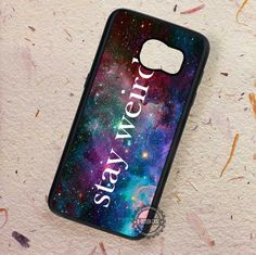 Stay Weird Disney - Samsung Galaxy S7 S6 S5 Note 7 Cases & Covers
