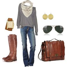 This is my ideal outfit for a Saturday....