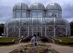 Jardim Botânico, Curitiba, Paraná; - Botanical Garden