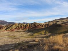 Painted Hills, Central Oregon.