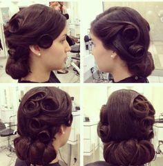 vintage hairdos swing