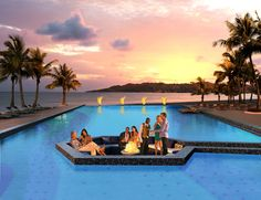 Infinity Pool at Sandals LaSource Grenada in the Caribbean - Sandals Resorts