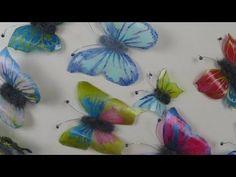 Schmetterlinge aus Plastikflaschen basteln ❁ Deko Ideen mit Flora-Shop - YouTube
