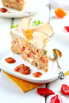 Pesto-broileri-voileipäkakku - Suklaapossu Cheesecakes, Pesto, Cereal, Sandwiches, Good Food, Breakfast, Lovers, Halloween, Morning Coffee