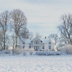 "Reasons to Travel to Sweden During Winter ""The most beautiful house in Värmland."""