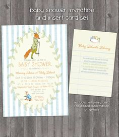 Vintage Peter Rabbit Beatrix Potter Mr Tod Baby by InvitingParties