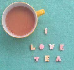 I Love tea! ~ Charlotte Love