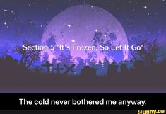 The cold never bothered me anyway. - The cold never bothered me anyway. Funny Weather, Weather Memes, Funny Frozen Memes, Popular Memes, Never, Letting Go, Faith, Relationship, Cold