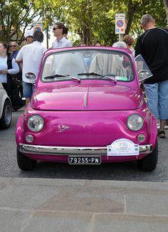 Raduno Fiat 500 by roberto53, via Flickr- gotta be honest. This is definitely my dream car!!
