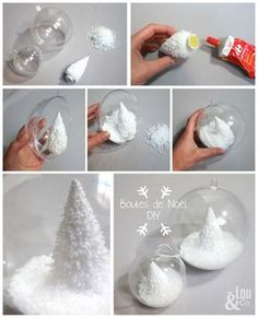 Cuisine Deco tips and daily discoveries Lou & Co Noel Christmas, Christmas Balls, All Things Christmas, Winter Christmas, Diy Christmas Ornaments, Holiday Crafts, Christmas Decorations, Ball Ornaments, Merry Xmas