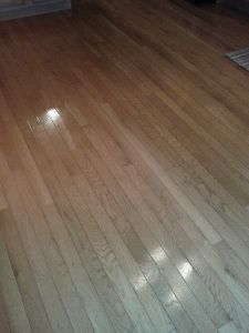 Best homemade hardwood floor cleaner.  I've been using this recipe for about 7 months and I love it.