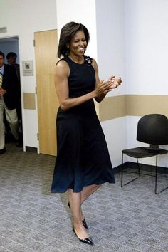 Home - Mrs.O - Follow the Fashion and Style of First Lady Michelle Obama Michelle Obama Photos, Michelle Obama Fashion, American First Ladies, Beautiful Evening Gowns, Black Sequin Dress, Celebrity Style, Fashion Looks, Michael Kors, Style Inspiration