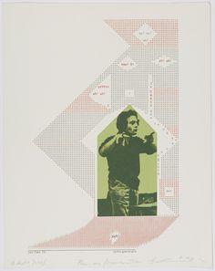 Auto Portrait, Henri Chopin, 1970