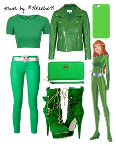 """""""Sam (Totally Spies) 1"""" by rheebavn ❤ liked on Polyvore"""