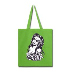 This canvas tote bag is ideal for light carrying of groceries, magazines and your personal goodies. Web canvas handles in a variety of bright colors. Canvas Fabric, Cotton Canvas, Canvas Tote Bags, Fabric Weights, Women's Bags, Fashion Bags, Reusable Tote Bags, Prints