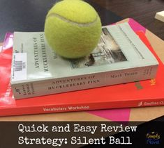 Silent Ball: An Easy, Fun Review Game for Students. Could be used for any grade and to review any subject! // Article by Simply Novel Teaching Blog