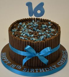 Cake Decoration For 16 Year Old Boy : 1000+ ideas about 16th Birthday Cakes on Pinterest ...