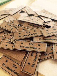 Labels selber machen mit Snap Pap und T-Shirt-Transferfolie