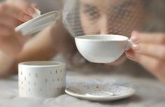 Mugs – Espresso cup – a unique product by Barbara-Sniegula on DaWanda