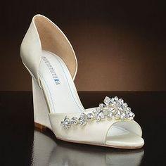 Liz Rene Guadalupe 779 Wedding Shoes And Dyeable Bridal White Ivory Pinterest