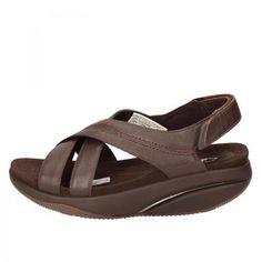 cf9ce3f635cd Ab936 MBT Shoes Brown Leather Womens Sandals EU 37- без перевода
