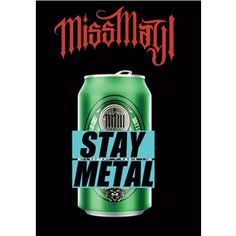 Miss May I Stay Metal Poster Flag
