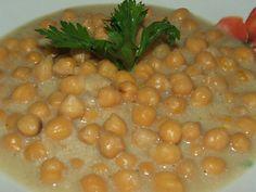Csicseriborsó főzelék Chana Masala, Vegetables, Ethnic Recipes, Food, Essen, Vegetable Recipes, Meals, Yemek, Veggies
