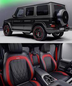 Best cars mercedes suv g class 55 ideas Mercedes G Wagon Amg, Mercedes Benz G Class, G Wagon Interior, G 63 Amg, Lux Cars, Fancy Cars, Luxury Suv, Dream Cars, Automobile