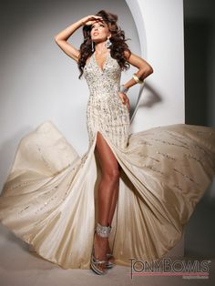 Tony Bowls Evenings TBE11305 #Beautiful #Tony #Bowls #Evening #Gown #Perfect for #Prom. Comes in multiple colors #Dress
