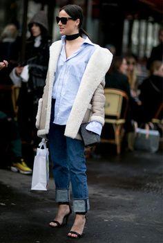 Streetstyle von der Paris Fashion Week im März 2016