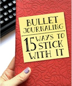 Be consistent with your bullet journal using these 15 tricks. Bullet Journal Health, December Bullet Journal, Bullet Journal Tracker, Bullet Journal Spread, Bullet Journal Layout, Bullet Journal Inspiration, Bullet Journals, Journal Ideas, Planner Organization