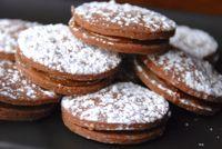 Chocolate Lucuma Alfajores - Alfajores de Lucuma