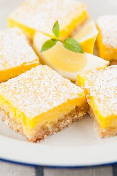 The Best Lemon Bars. Will be trying this for one sweet neighbor! 8-12-13 They are in the oven now-very simple recipe. If they are good will definitely be making these again!
