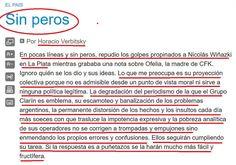 el blog de josé rubén sentís: la agresión injustificada de wiñazky según verbits...
