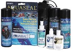Diver's Value Pack for protecting, repairing and preserving valuable dive equipment, Others