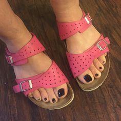 c806cb60a7a Auth Birki s by Birkenstock leather sandals Sz 5 Authentic Birki s by  Birkenstock pink leather sandals euro sz 36 US Sz 5 good condition few  light marks ...