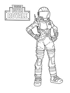 Free Printable Fortnite Coloring Pages Survivalist
