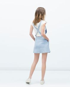 ZARA - NEW THIS WEEK - DUNGAREES WITH SKIRT