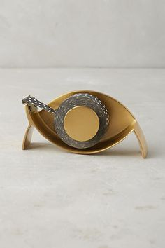 Anthropologie Crescent Pencil Cup