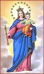 Madre mía de mi vida, auxilio de los cristianos, la pena que me atormenta pongo en tus benditas manos. Tú que sabes mis secretos, pues todos te los confío, dá la paz a los turbados y alivio al corazón mío. No es verdad, madre de mi alma, que en tí encontraré consuelo? no es verdad que tu me amas y me miras desde el cielo? aunque tu amor no merezco, nadie recurre a tí en vano, pues eres madre de Dios y auxilio de los cristianos.