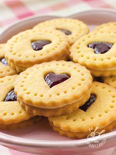 Cuoricini farciti con vaniglia e cioccolato