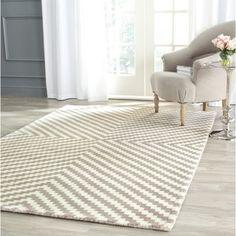 Safavieh Handmade Cambridge Grey/ Ivory Wool Rug (8' x 10') - Overstock™ Shopping - Great Deals on Safavieh 7x9 - 10x14 Rugs