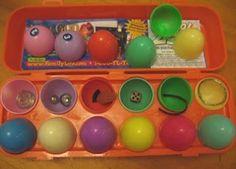Resurrection Eggs.  Easter Family Home Evening