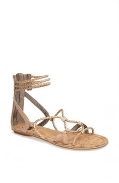 ce16aaa1d Circus by Sam Edelman Sandra Sandals Natural Gold 9 5