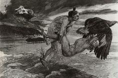 Max Klinger - Entführung des Prometheus (The Abduction of Promet
