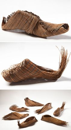 pine needle shows_needle and thread Walk In My Shoes, Your Shoes, Women's Shoes, Weird Fashion, Fashion Shoes, Narrow Shoes, Rainy Day Crafts, Walk This Way, Shoe Art