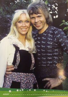 Agnetha and Björn in ABBA