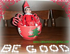 "The person before me ""Cute Elf in the shelf idea"" pretty sure i'd freak if I were a kid..."