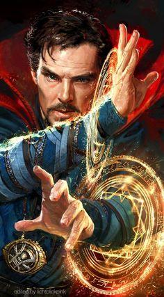 Benedict Cumberbatch to Return as 'Doctor Strange' in 'Thor: Ragnarok' - Marvel Comics Fan Marvel Avengers, Marvel Comics, Avengers Movies, Captain Marvel, Iron Man, Strange Marvel, Strange Art, Doctor Strange Drawing, Doctor Strange Poster